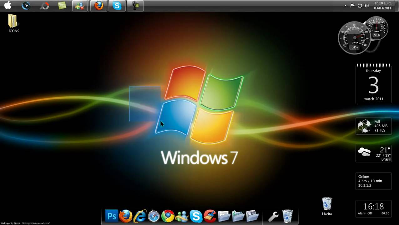 rocketdock windows 7