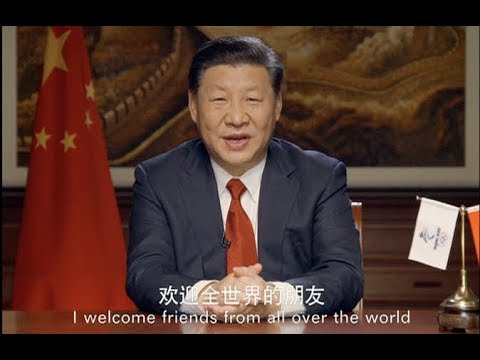 Chinese President Welcomes People to Beijing 2022 Winter Olympics