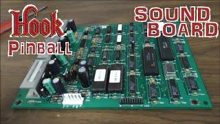 1992 Data East HOOK Pinball Repair - Sound Board, Rope Lights, Flippers, John Williams Scored Music?