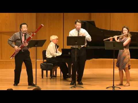Bill Douglas - Quartet for Flute, Oboe Bassoon and Piano, II. Full Moon