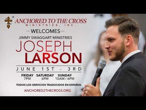Evangelist Joseph Larson at Anchored to the Cross Ministries - Mary Larson Testifies- 4 June 2018 PM