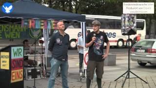 14. Friedensmahnwache in Wien: Über die Geschehnisse am Walknerhof (28.7.2014)