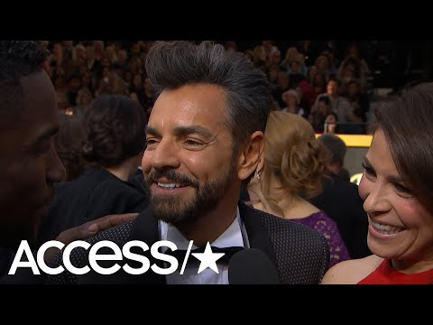 Eugenio Derbez Talks Presenting At The Oscars, 'Overboard' With Anna Faris & His Amazing Hair
