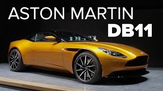 Geneva 2016: 600bhp Aston Martin DB11 Exclusive Walkaround And Full Details
