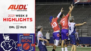 Dallas Roughnecks at Austin Sol | Week 2 | Game Highlights