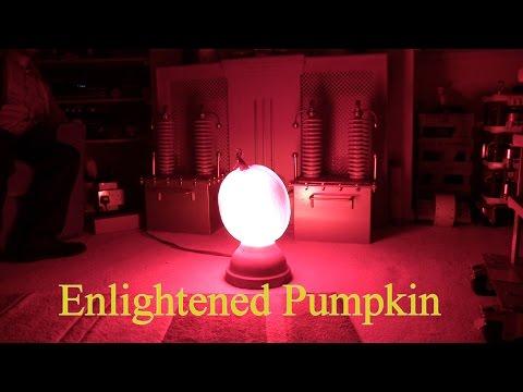 Pumpkin With 5,000 Watt Bulb Inside Is The Ultimate Jack O'Lantern