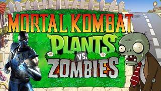Repeat youtube video Mortal Kombat vs Plants vs Zombies