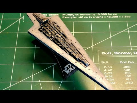 Super Star Destroyer scratch built