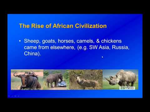Peoples, Plagues & Pests - Rise of African Civilization