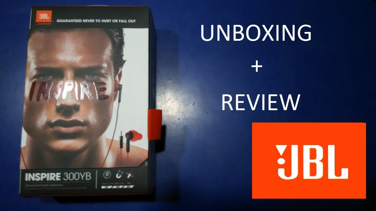 653fb25671e JBL 300YB earphones - Unboxing and review! - YouTube