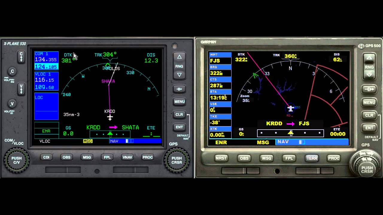 Garmin Gps Watch >> How to Use the Garmin 530 GPS in X Plane 10 - Tutorial ...