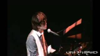090914 fancam shinee onew solo stage in live and fans meeting osaka