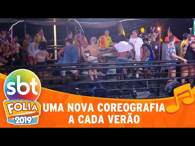 As coreografias do Carnaval | SBT Folia 2019