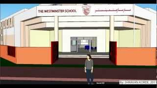 The Westminster School, Dubai In 3d.