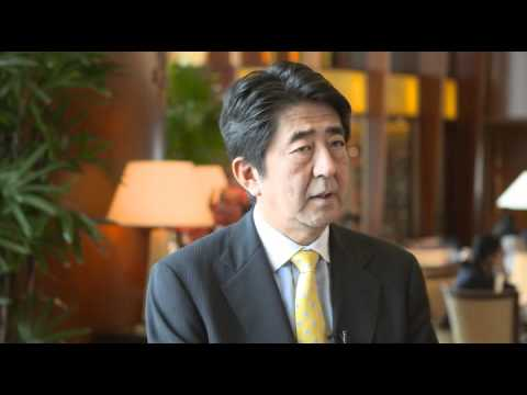 AIC 2012 Interview: Shinzo Abe