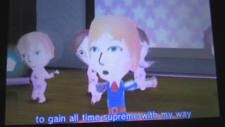 TomoDachi Life music compilation -  If Mii were President