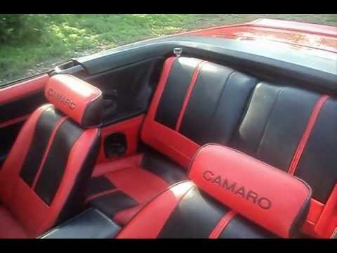 1989 Iroc Camaro Convertible Custom Youtube