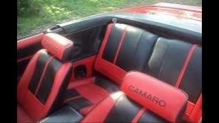 Repeat youtube video 1989 IROC CAMARO CONVERTIBLE CUSTOM