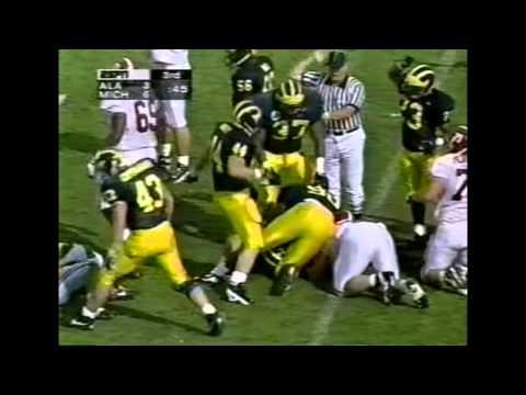 1997 Outback Bowl - #16 Alabama vs. #15 Michigan Highlights