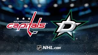 Repeat youtube video Beagle, Grubauer power the Caps past the Stars in OT
