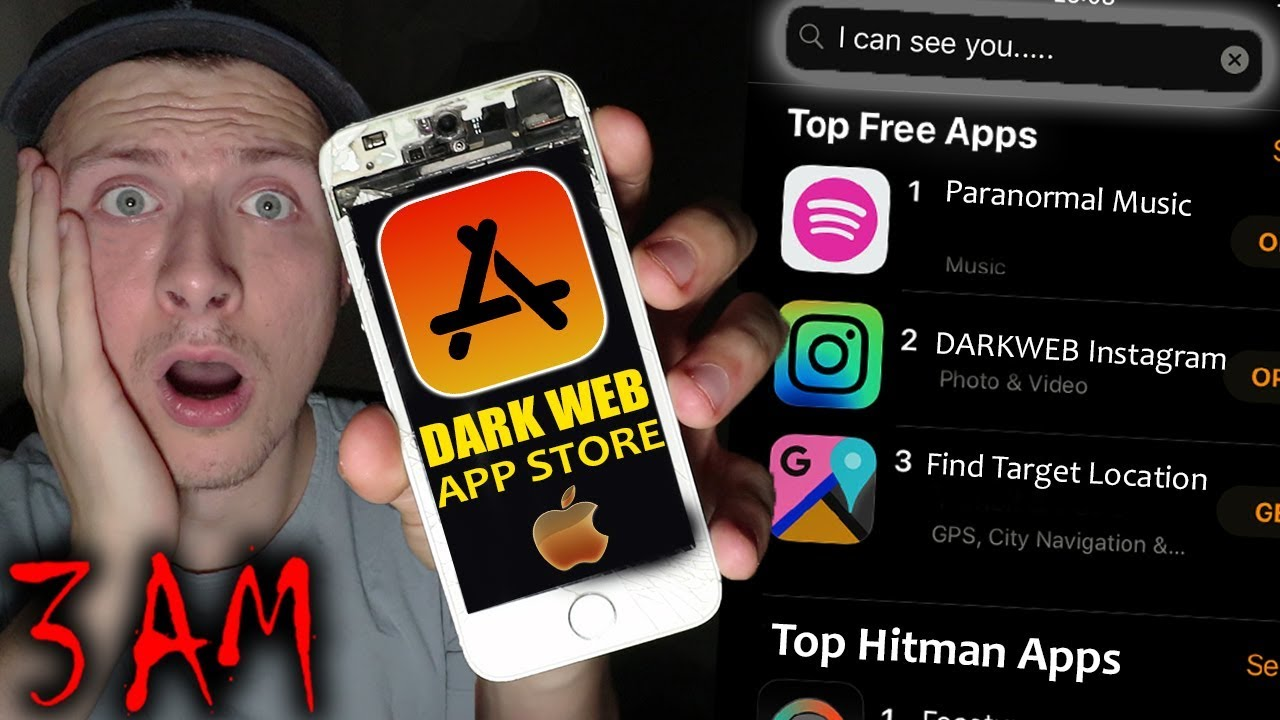 DO NOT GO ON THE DARK WEB APP STORE AT 3 AM! *HACKERS CAME TO MY HOUSE*