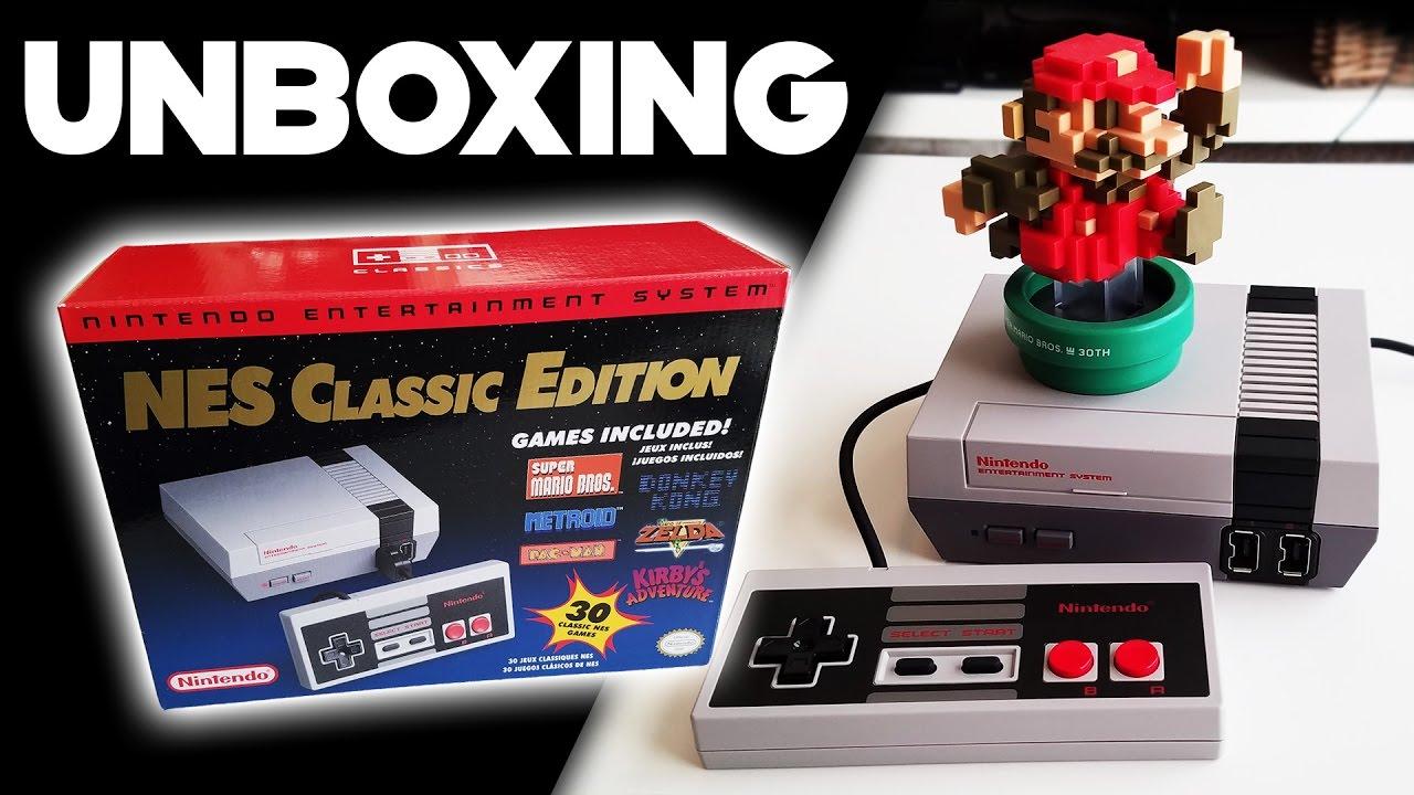 Nes Classic Edition Unboxing Setup Nes Mini Youtube