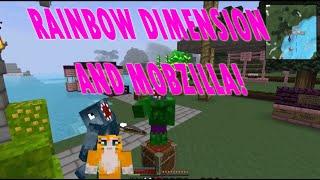 Minecraft Crazy Craft 2.2 iBallisticsquid 25-26-27 | Rainbow Dimension! and Mobzilla! |
