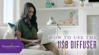 How To Use The USB Diffuser by Young Living