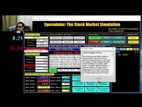 Speculator The Stock Market Simulation Game