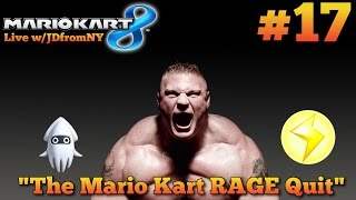 "Mario Kart 8 Multiplayer Gameplay   Mario Kart 8 #17   ""The Mario Kart RAGE Quit"""