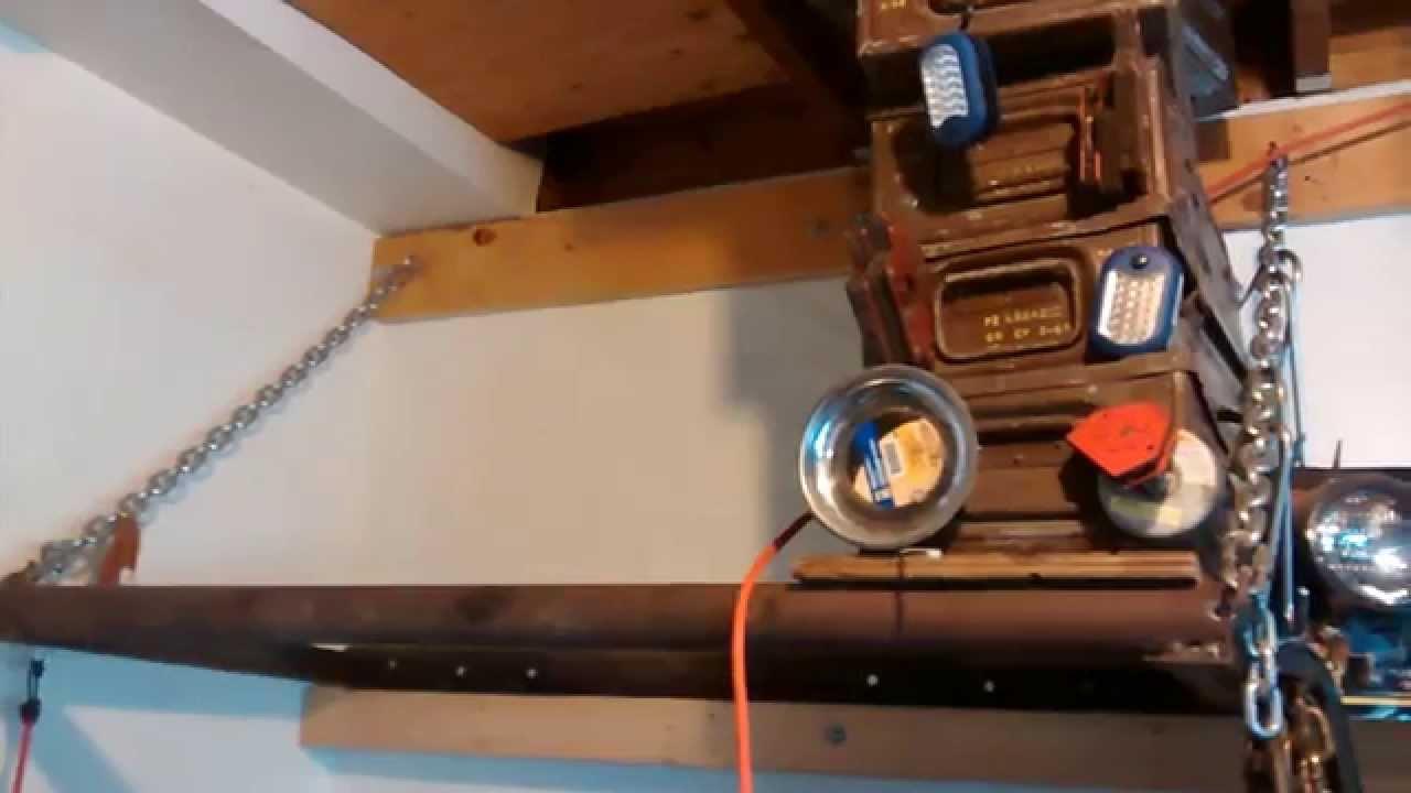 DIY Wall Mount Tire Rack - YouTube