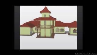Eriyawatiya Temple House,Sri lanka - Auto CAD Drawing