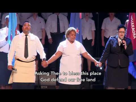 National Anthem (New Zealand, Fiji & Tonga) - Live at Congress 2016