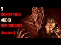 5 Most DISTURBING Audio Recordings With HORRIFYING Backstories ♛ [ Road stories ]