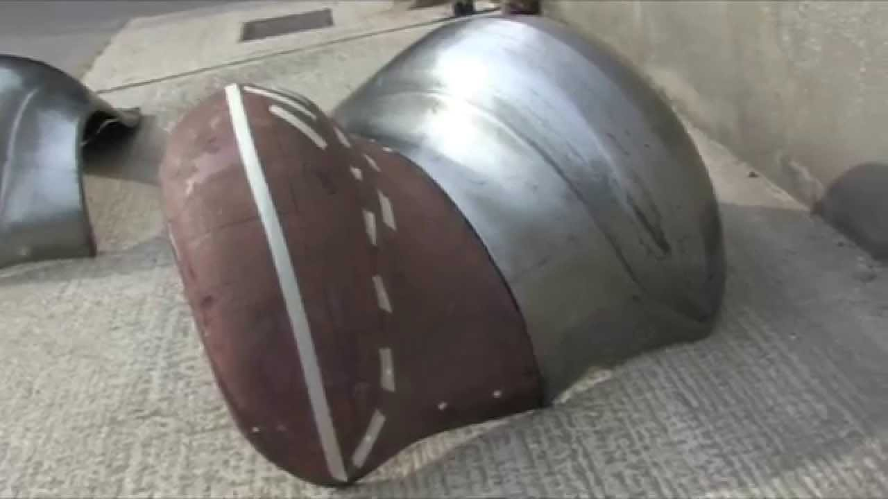 Making Wings Fenders By Hand Metalshaping Youtube