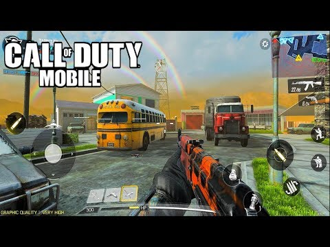 CALL OF DUTY MOBILE - ULTRA GRAPHICS Gameplay (Android) HD