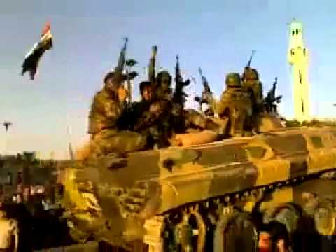 Syrian arab army SAA liberate Aleppo nation from FSA al quaeda terrorists mercenaries