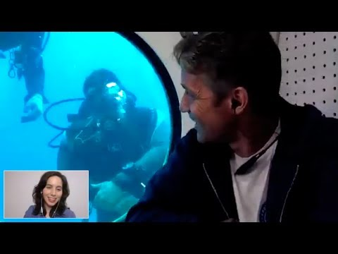 Fabien Cousteau, Part 2: Inside Aquarius Underwater Lab