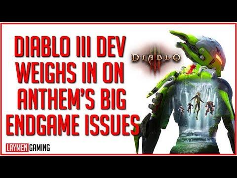 Repeat Diablo III Dev Gave Some Anthem Advice To Bioware (On Reddit