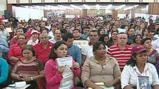 Nicolás Maduro en el  Seminario politico para trabajadores del sector educación
