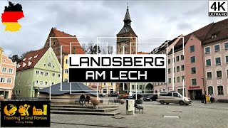 Landsberg am lech | germany 4k a walk along the city #landsberg #lech #gopro #hero8