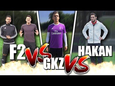 F2FREESTYLERS vs GoalKEEPERz vs HAKAN CALHANOGLU