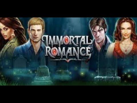 Immortal Romance slot machine - BIG WIN! Amber Freespin Bonus