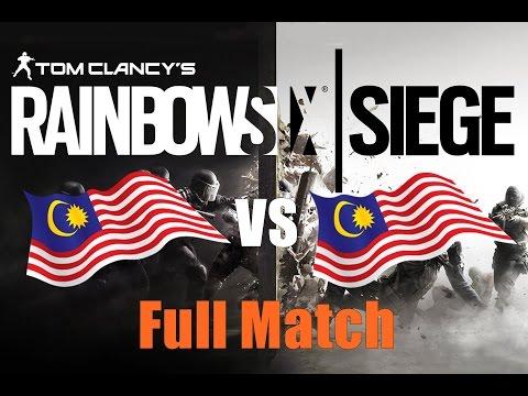 Rainbow Six Siege  ► Malaysia VS Malaysia (Full Match) #2