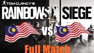 Rainbow Six Siege  ► Malaysia VS ...