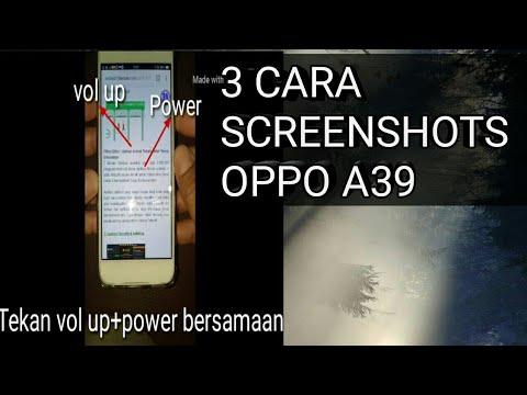 3 Cara ScreenShots Oppo A39   Long Screenshots
