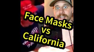 Anti Masker - California | Comedy Reacts | SmileyDaveUK