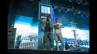 Eminem feat. 50 Cent - Eminem Revival Live Tour London Twickenham Stadium - 15th July 2018
