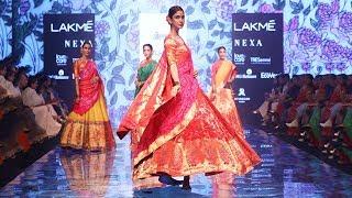 Disha Patani & Ayushmann Walk For Rohit Gandhi+Rahul Khanna Fall/Winter 2019/20 Lakme Fashion Week