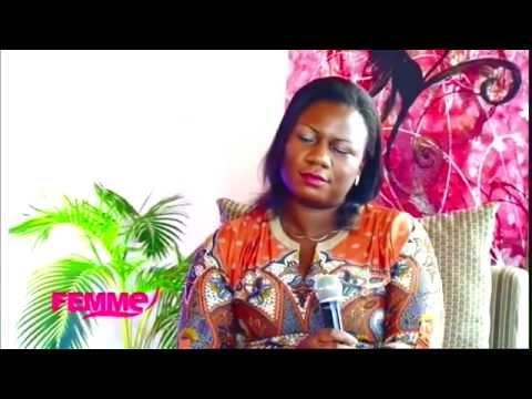 Mme Cecile Endungu dans  le Magazine Femme, avec Feza Micka